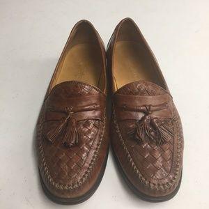 Johnston & Murphy Mens shoe Brown Size 8.5